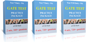 Check out All WA Selective School Test Practice Packages