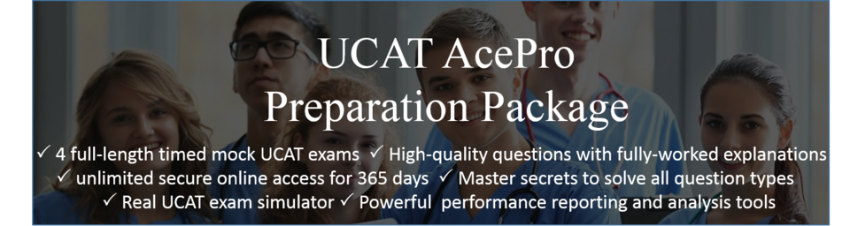 UCAT AcePro Preparation Package